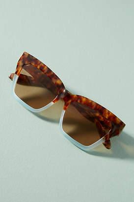 Sonix Half + Half Tortoise Sunglasses