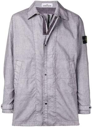 Stone Island zipped lightweight jacket