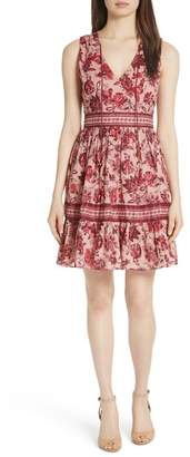 Kate Spade Paisley Blossom A-Line Dress