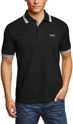 HUGO BOSS Green Paddy Polo Shirt L