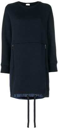 Moncler slouched knitted dress