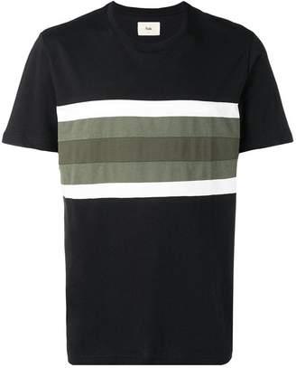 Folk stripe detail T-shirt
