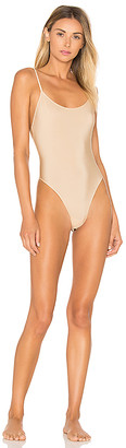Only Hearts Second Skins Lowback Bodysuit