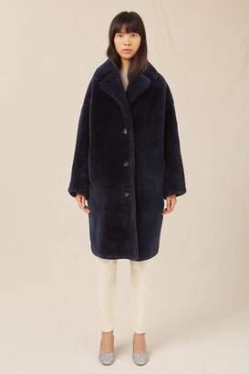 Mansur Gavriel Shearling Classic Coat