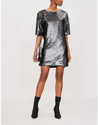 J Brand Fashion Lilly sequinned mini dress