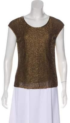 Ralph Lauren Black Label Beaded Embellished T-Shirt