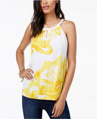 INC International Concepts I.n.c. Sleeveless Printed Top, Created for Macy's