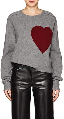 Robert Rodriguez Women's Heart-Knit Wool-Cashmere Sweater