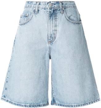 Nobody Denim Tidal high-waisted denim shorts