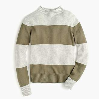 Women's 1988 rollneckTM sweater in wide stripes