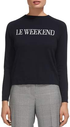 Whistles Le Weekend Sweater