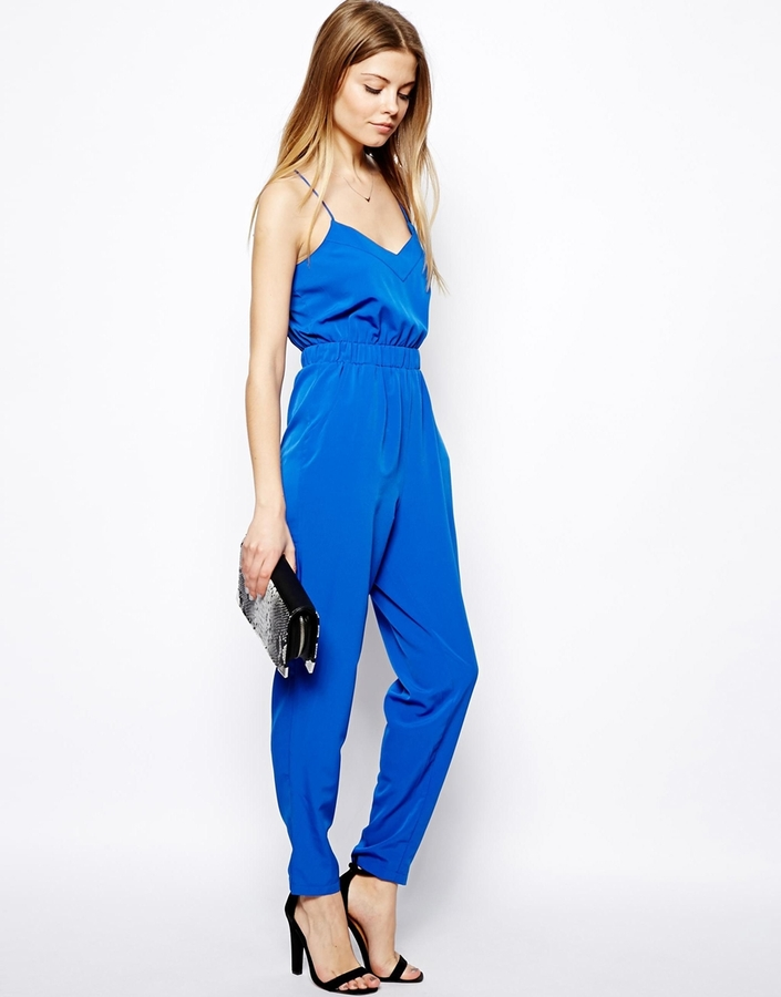 Asos TALL Jumpsuit With Cami Straps