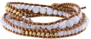 Chan LuuChan Luu Crystal Bead Wrap Bracelet