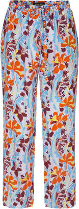 Stine Goya Truman Silk Wide-Leg Pants