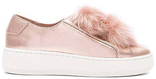 Steve Madden Breeze Faux Fur Sneaker