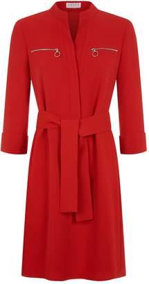 Claudie Pierlot Zip Detail Dress