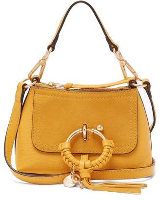 See by Chloe Joan Mini Leather Cross Body Bag - Womens - Yellow