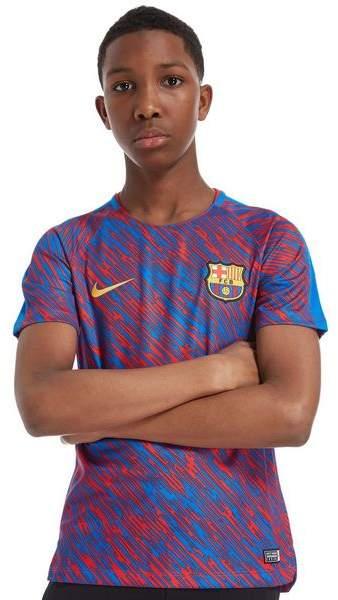 FC Barcelona Squad Pre Match Shirt Junior