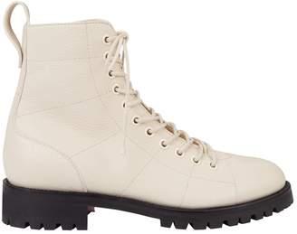 Jimmy Choo Cruz Flat Leather Boots