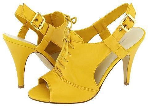 Nine West - Heathers (Yellow Leather)