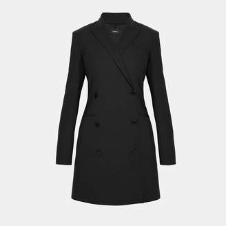 Theory Good Wool Blazer Dress