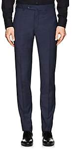Incotex Men's S-Body Slim Wool Trousers - Navy
