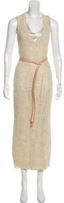 Brunello Cucinelli Knit Maxi Dress