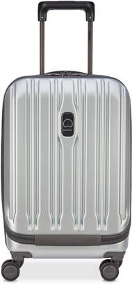 """Delsey ConnecTech 19"""" International Expandable Carry-On Spinner Suitcase"""