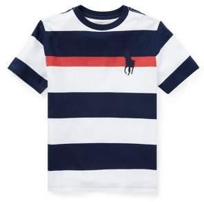 Ralph Lauren Boy's Striped Jersey Cotton Tee