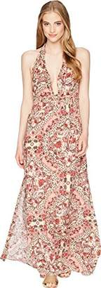 O'Neill Women's Dolley Printed Maxi Dress