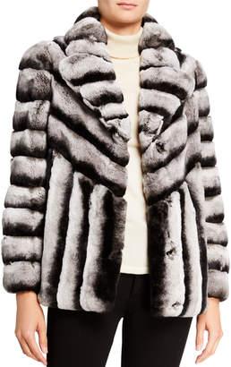 Gorski Rex Rabbit Fur Jacket