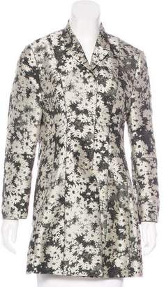 Stella McCartney Floral Jacquard Coat