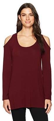 Karen Kane Women's Cold Shoulder Hi-Lo Sweater