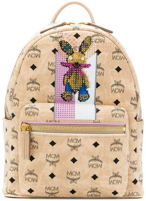 MCM bunny detail backpack