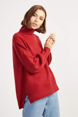 Flossy French Connenction ORLA BALLOON SLEEVE JUMPER