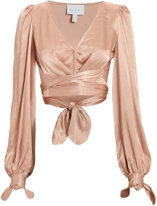 Alice McCall I Like That Wrap Top