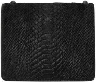 Dries Van Noten Croc-effect shoulder bag