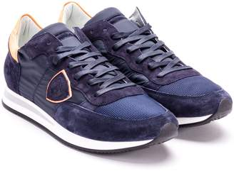 Philippe Model Tropez Basic Leather Sneakers