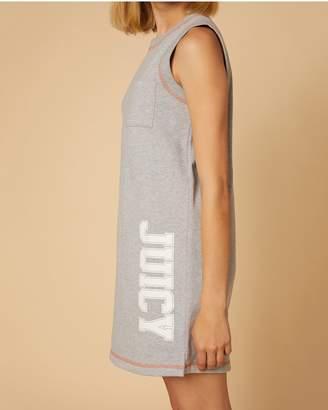 Juicy Couture Jxjc Logo Terry Tank Dress
