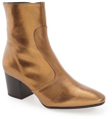 TopshopTOPSHOP &Mustard& Block Heel Boot (Women)