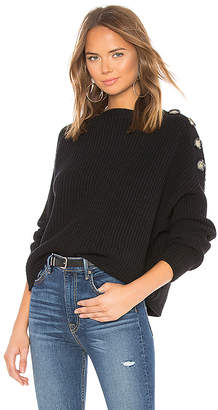 Bardot X REVOLVE Button Shoulder Sweater
