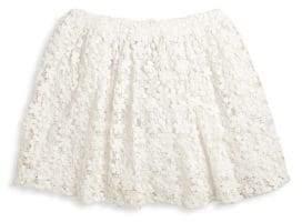 Ralph Lauren Toddler's, Little Girl's& Girl's Cotton Lace Skirt