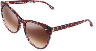 Thierry Lasry Swappy C31 Round Plastic Sunglasses