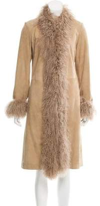 Joseph Structured Shearling Coat