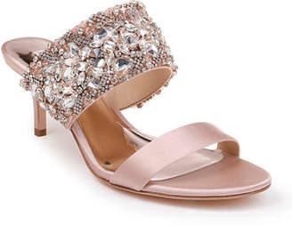 d4f39e116fe4 Badgley Mischka Linda Crystal and Jeweled Sandals