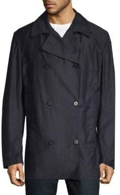 Double-Breasted Pea Coat