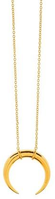 Women's Gorjana 'Cayne' Crescent Pendant Necklace $78 thestylecure.com