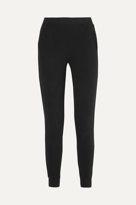 ATM Anthony Thomas Melillo French Cotton-terry Track Pants - Black