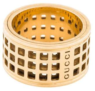 Gucci 18K Perforated Spinning Ring