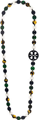 Tory Burch flat beaded necklace